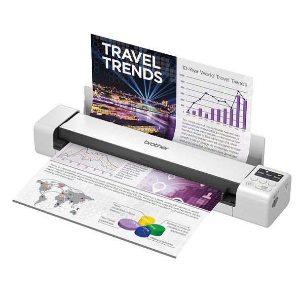 Brother DS-940DW Wireless Portable Document Scanner Product Image 2