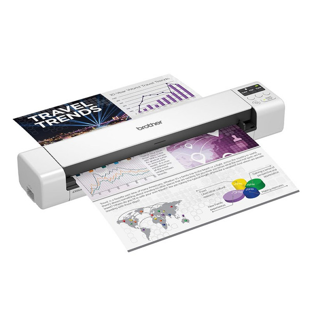 Brother DS-940DW Wireless Portable Document Scanner Product Image 3
