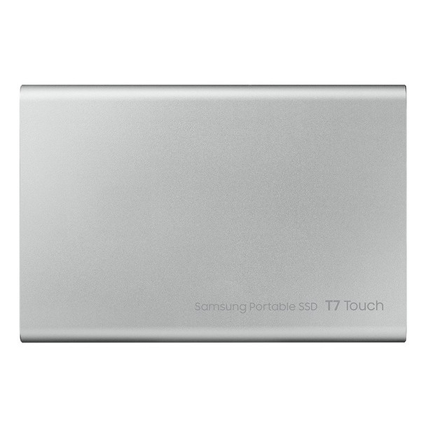 Samsung T7 Touch 2TB USB 3.2 Portable SSD - Silver Product Image 3