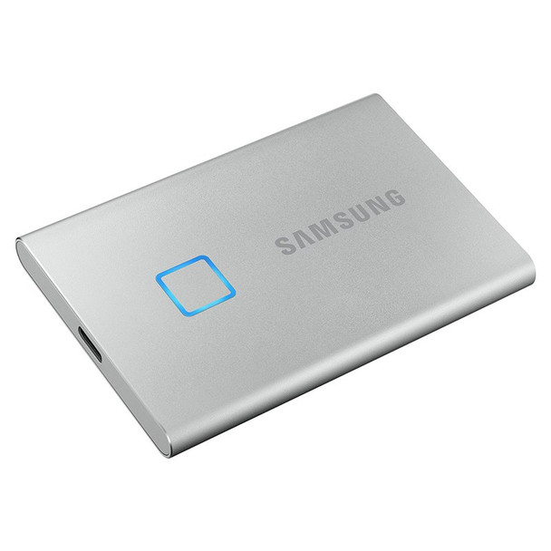 Samsung T7 Touch 2TB USB 3.2 Portable SSD - Silver Product Image 4