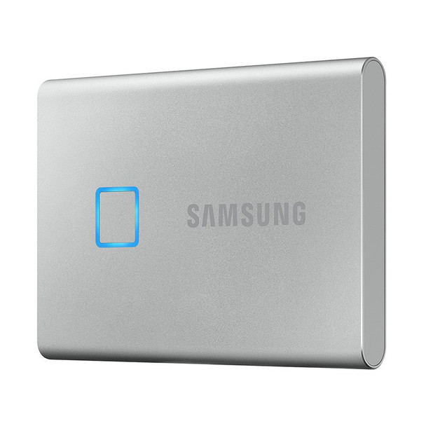 Samsung T7 Touch 2TB USB 3.2 Portable SSD - Silver Product Image 5