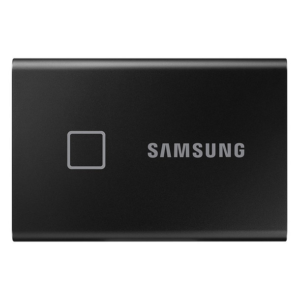 Samsung T7 Touch 500GB USB 3.2 Portable SSD - Black Product Image 2