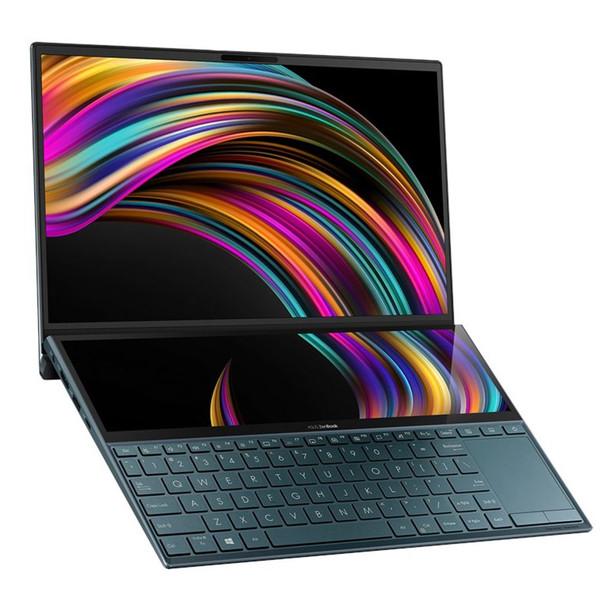 Image for Asus ZenBook Duo UX481FL 14in Laptop i5-10210U 8GB 512GB MX250 W10 - Blue AusPCMarket