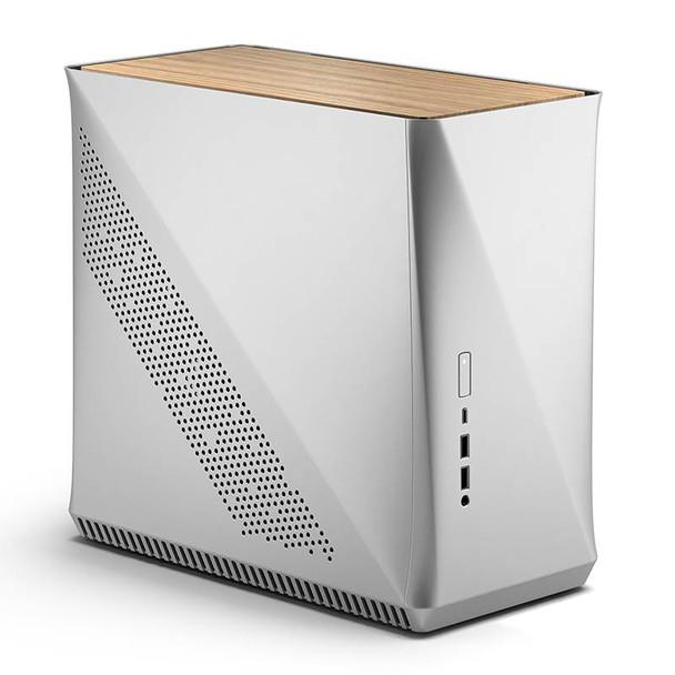 Image for Fractal Design ERA ITX Mini-ITX Case - Silver White Oak AusPCMarket