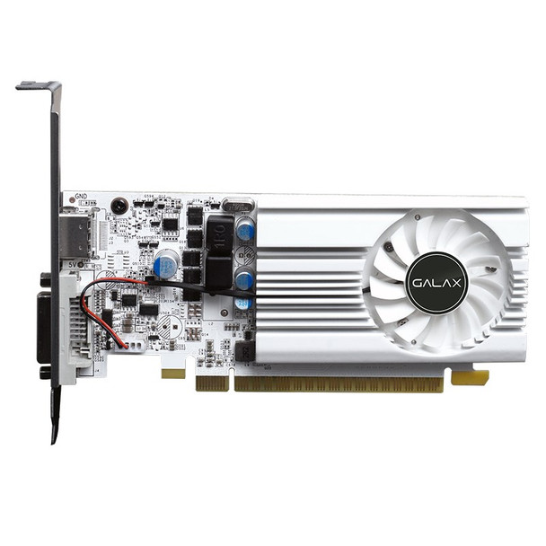 Galax GeForce GT 1030 EX OC White 2GB Video Card Product Image 2