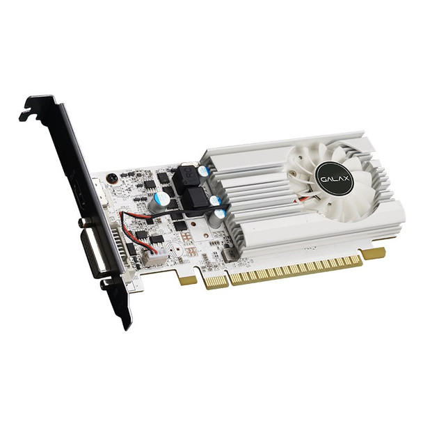 Galax GeForce GT 1030 EX OC White 2GB Video Card Product Image 5