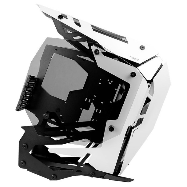 Antec Torque Tempered Glass Open-Air Mid-Tower ATX Case - White Product Image 8