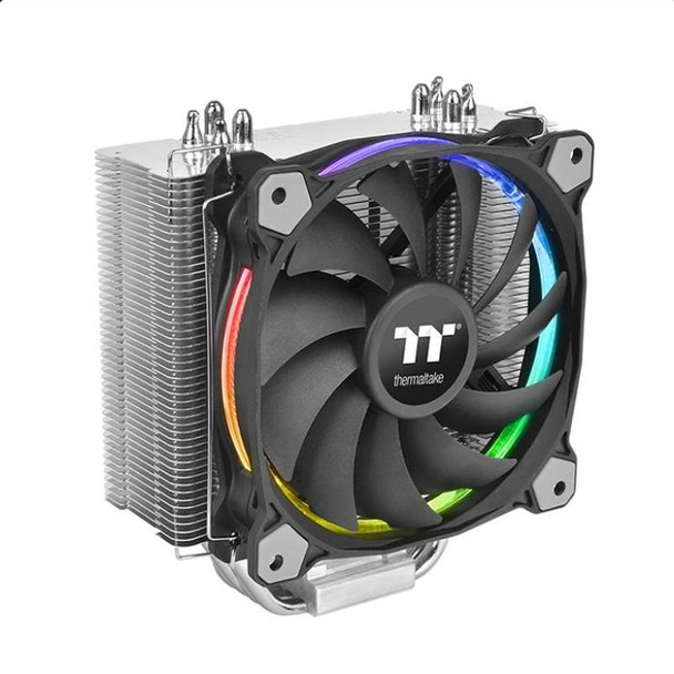 Image for Thermaltake Riing Silent 12 Sync Edition 120mm 1500RPM PWM RGB Fan AusPCMarket
