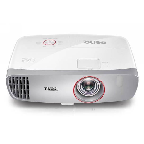 BenQ W1210ST Full HD 3D DLP Short Throw Gaming Projector Product Image 2