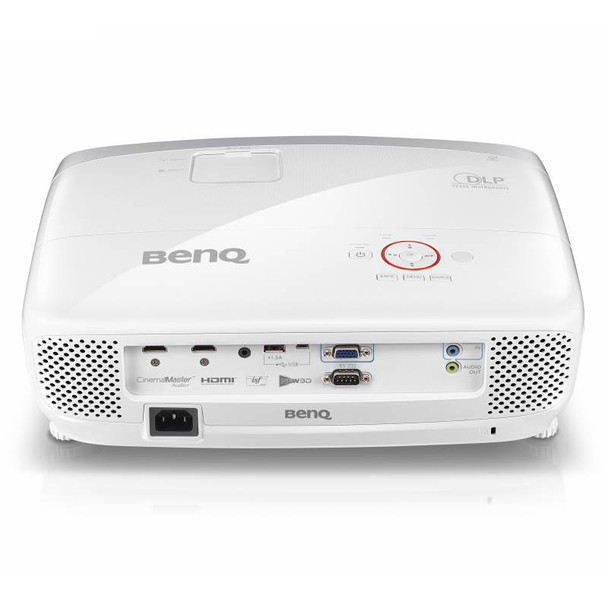 BenQ W1210ST Full HD 3D DLP Short Throw Gaming Projector Product Image 4
