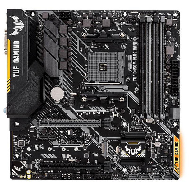 Asus TUF B450M-PLUS GAMING AM4 M-ATX Motherboard Product Image 2