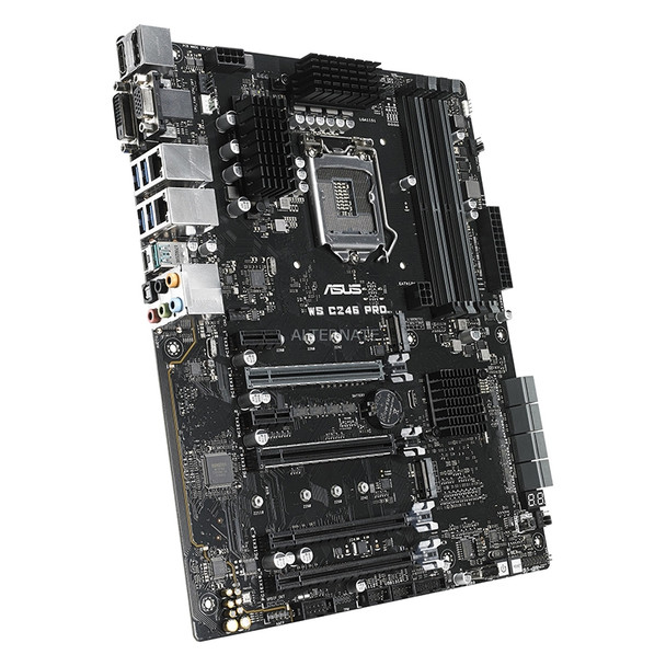 Image for Asus WS C246 PRO LGA1151 ATX Workstation Motherboard AusPCMarket