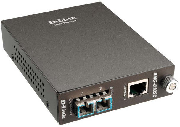 Image for D-Link DMC-810SC 1000BaseT to 1000BASELX Single Mode Converter AusPCMarket