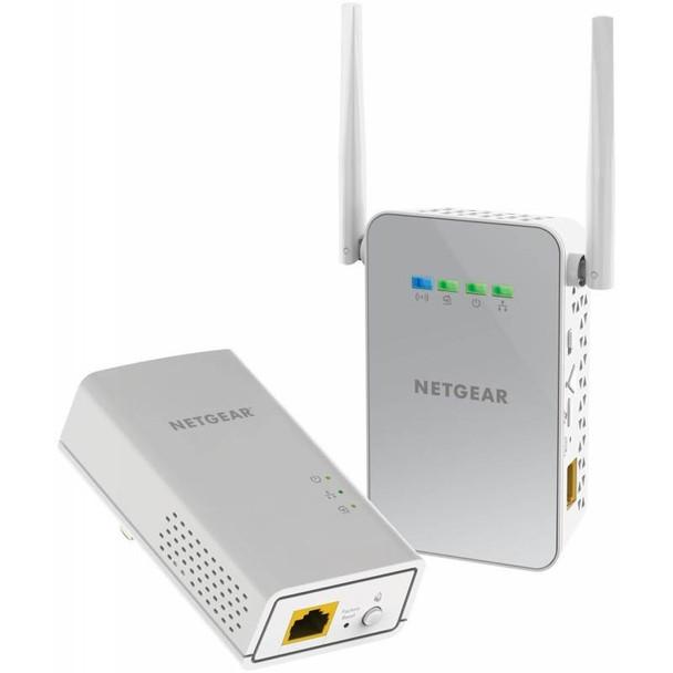 Image for Netgear PLW1000 Gigabit Ethernet & Wireless 802.11ac Powerline Adapter Kit AusPCMarket