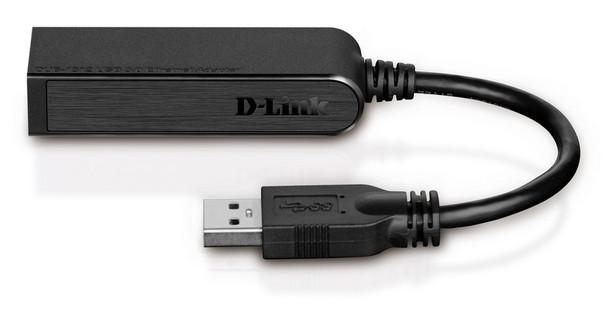 D-Link DUB-1312 USB 3.0 to Gigabit Ethernet Adapter Product Image 2