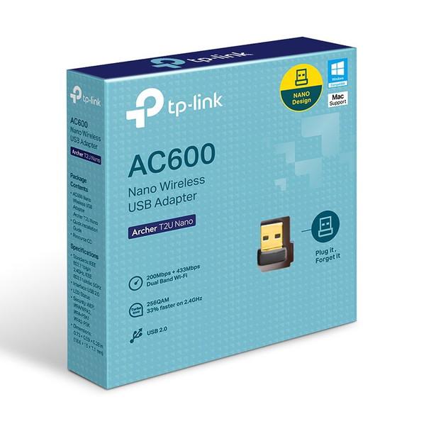 TP-Link Archer T2U AC600 Nano Wireless USB Adapter Product Image 2