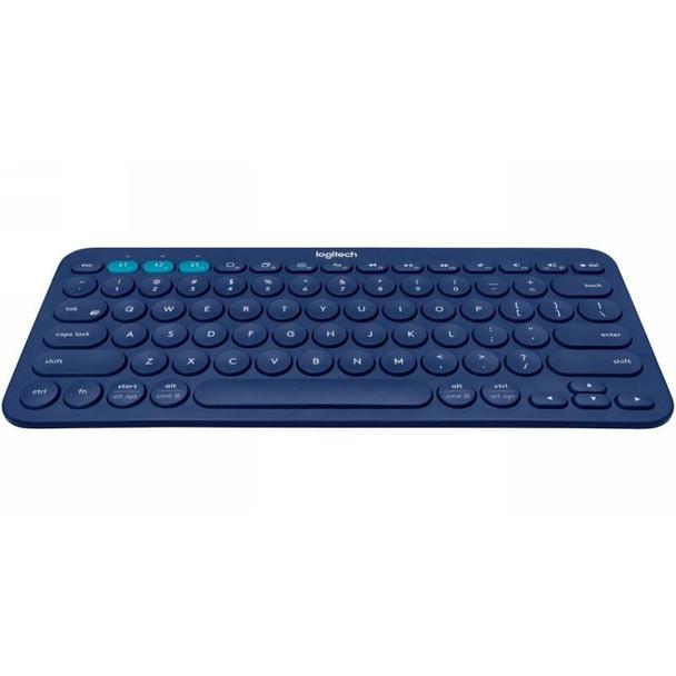 Image for Logitech K380 Multi-Device Wireless Bluetooth Keyboard - Blue AusPCMarket