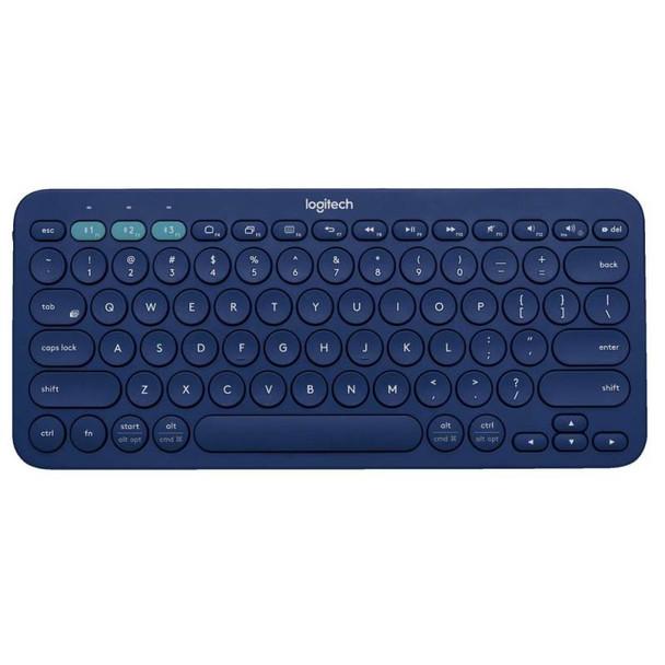 Logitech K380 Multi-Device Wireless Bluetooth Keyboard - Blue Product Image 2