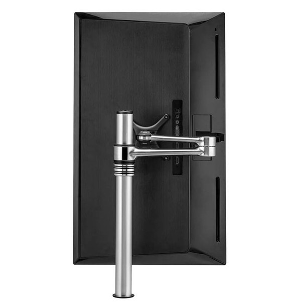 Atdec AF-AT Single Pole Articulated Arm Stand - Silver Product Image 4