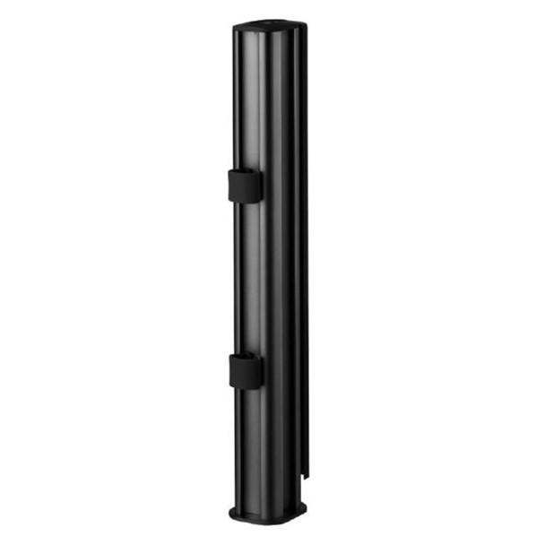 Atdec AWMS-2-4640 400mm Post Dual Monitor Mount w/ Grommet - Matte Black Product Image 3