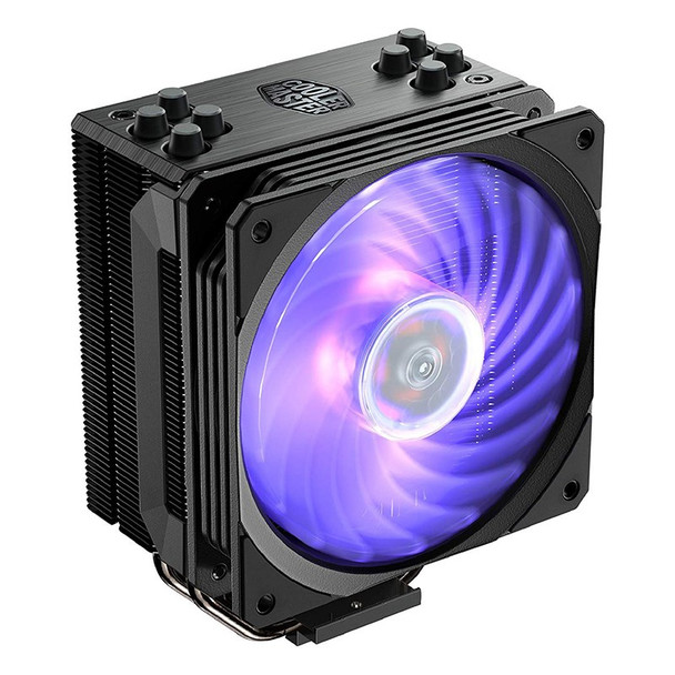 Image for Cooler Master Hyper 212 RGB CPU Cooler - Black Edition AusPCMarket
