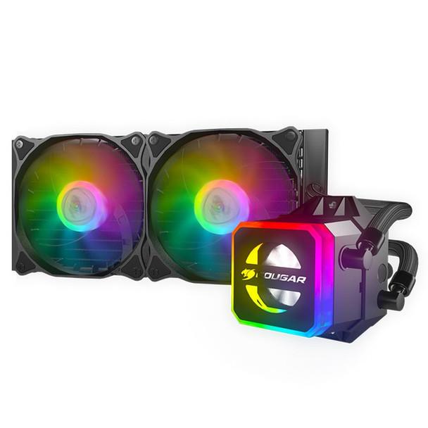 Image for Cougar Helor 240 RGB AIO Liquid CPU Cooler AusPCMarket