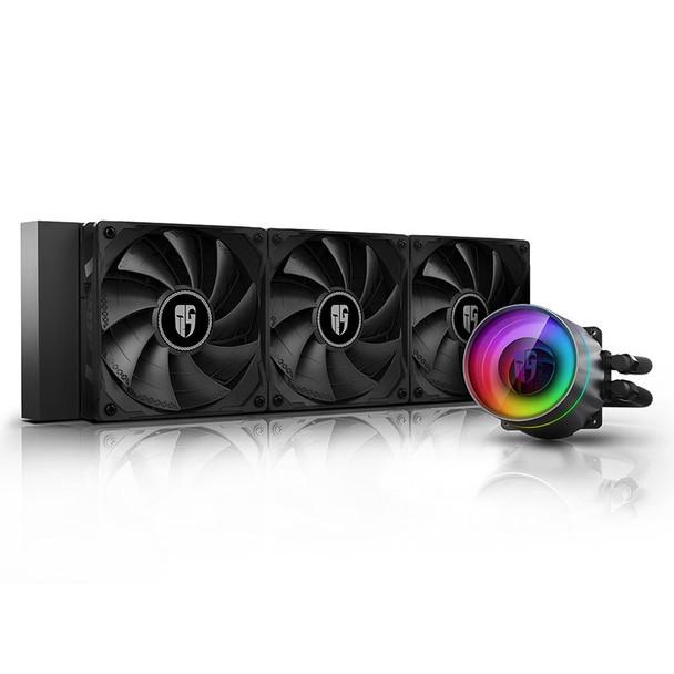 Image for Deepcool Castle 360EX RGB AIO CPU Liquid Cooler AusPCMarket