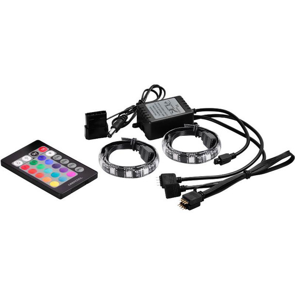 Deepcool RGB 350 Colour LED Strip Magnetic Lighting Kit With Remote