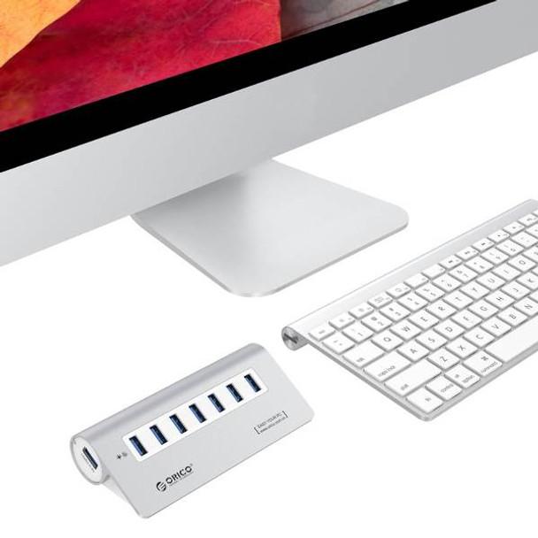 Orico M3H7-SV 7-Port Super-Speed USB 3.0 Hub - Silver Product Image 3