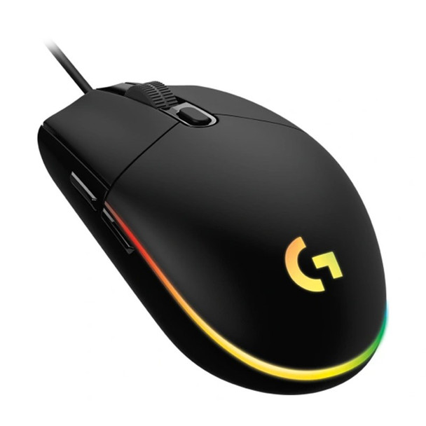 Image for Logitech G203 LIGHTSYNC Optical Gaming Mouse - Black AusPCMarket