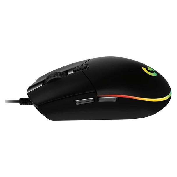 Logitech G203 LIGHTSYNC Optical Gaming Mouse - Black Product Image 3