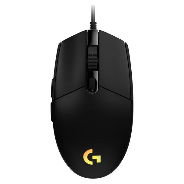 Logitech G203 LIGHTSYNC Optical Gaming Mouse - Black Product Image 4
