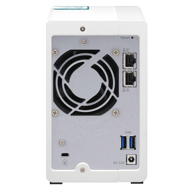 QNAP TS-231K 2 Bay Turbo NAS Alpine AL-214 Quad Core 1.7GHz CPU 1GB RAM Product Image 6