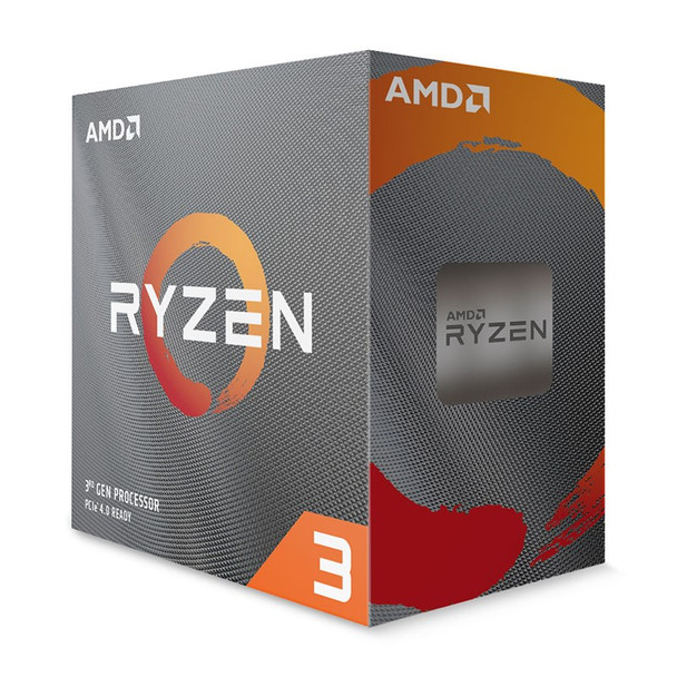 Image for AMD Ryzen 3 3100 4 Core Socket AM4 3.6GHz CPU Processor + Wraith Stealth Cooler AusPCMarket