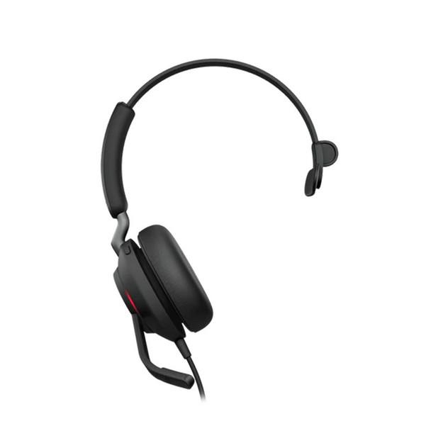 Image for Jabra Evolve2 40 UC USB-A Stereo Headset - Black AusPCMarket