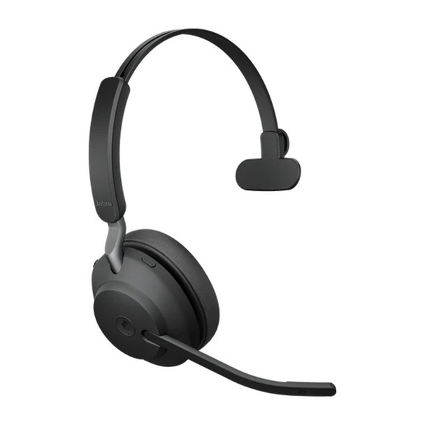 Jabra Evolve2 65 MS Mono USB Bluetooth Headset (inc Charging Stand) - Black Product Image 4