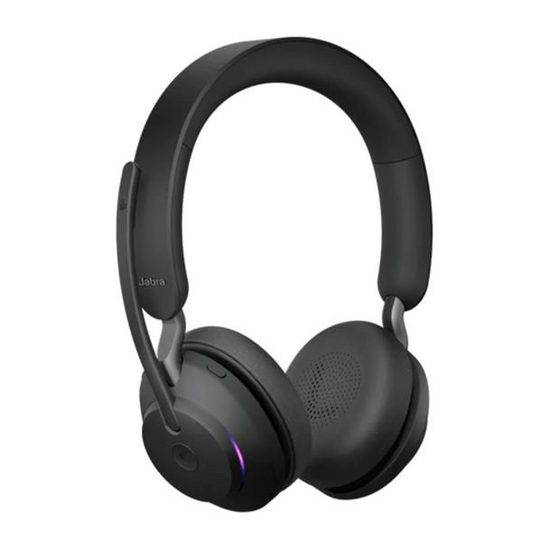 Jabra Evolve2 65 MS USB-A Stereo Bluetooth Headset - Black Product Image 3