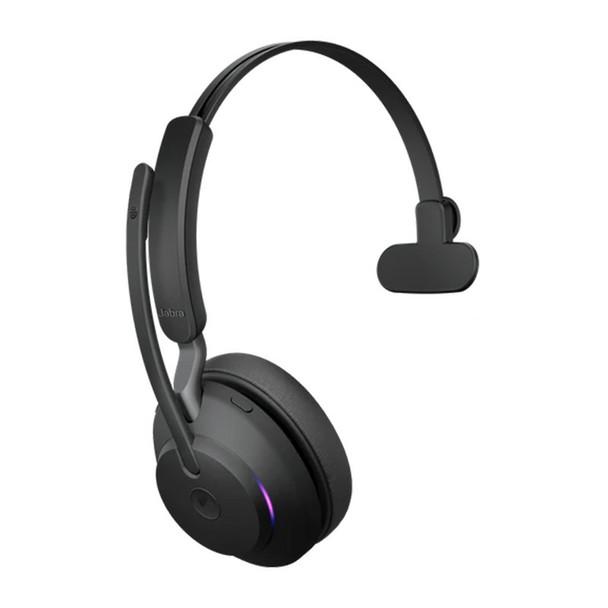 Jabra Evolve2 65 UC USB-A Mono Bluetooth Headset - Black Product Image 3