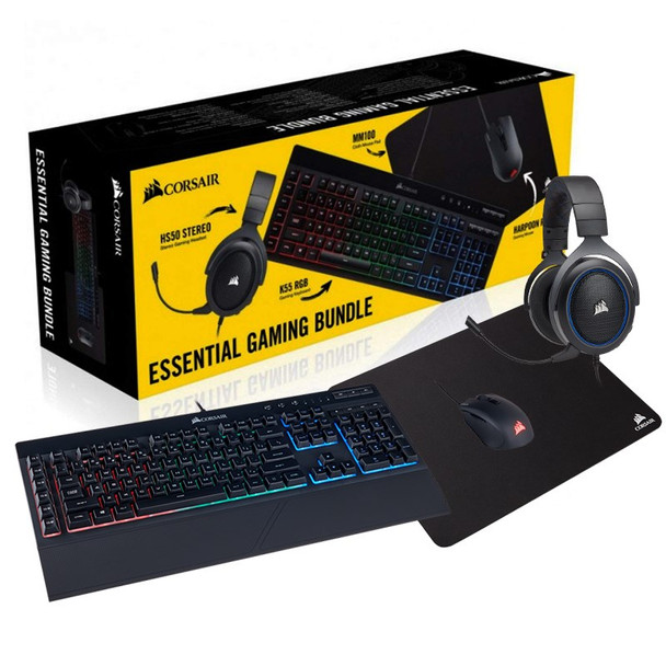 Image for Corsair Essentials Gaming Bundle AusPCMarket