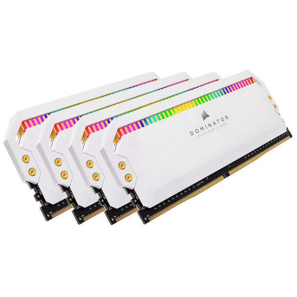Corsair Dominator Platinum RGB 32GB (4x 8GB) DDR4 3600MHz Memory - White Product Image 7