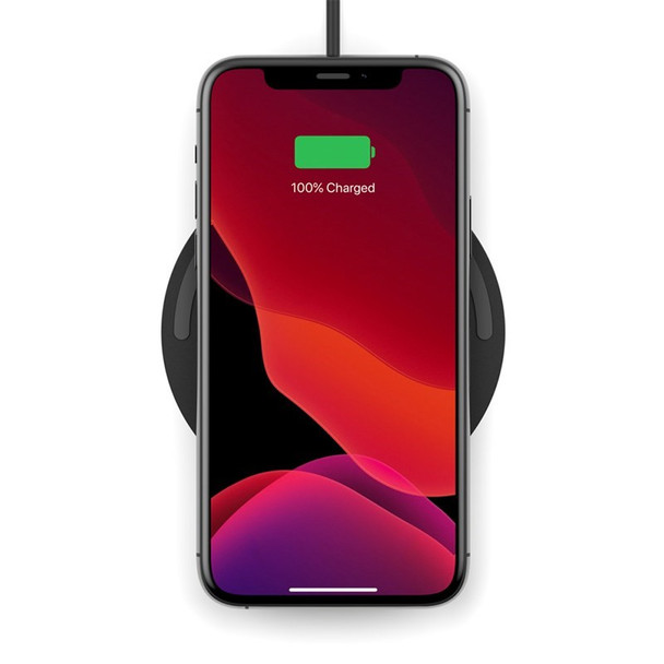 Belkin Boost Charge 10W Wireless Charging Pad - Black (No PSU) Product Image 4