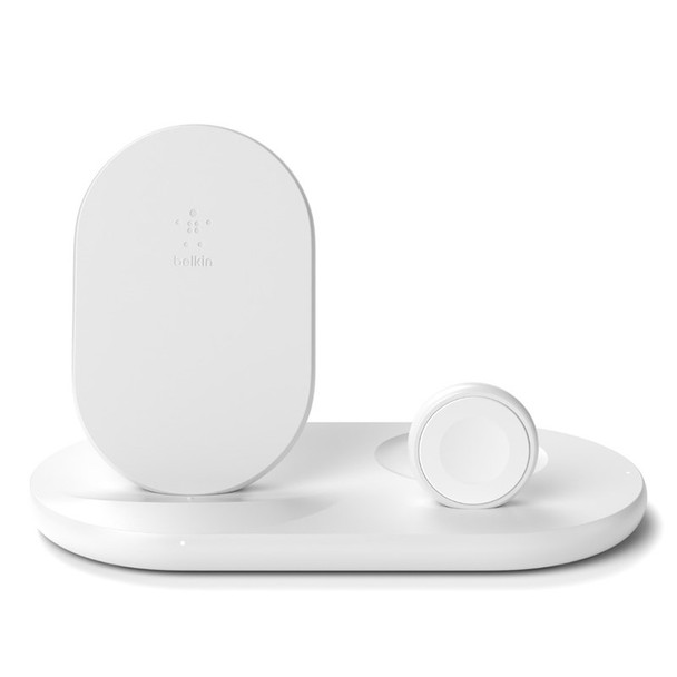 Image for Belkin Boost Charge 3-in-1 Wireless Charging Dock for Apple Devices - White AusPCMarket