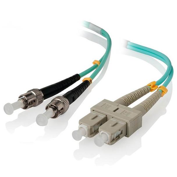 Image for Alogic 2m STSC 10G Multimode Duplex LSZH Fibre Cable 50/125 OM3 AusPCMarket