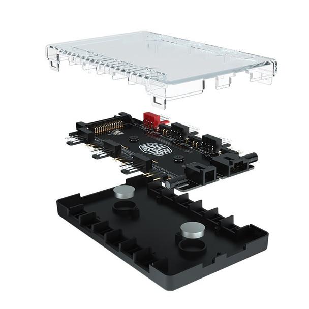 Cooler Master MasterFan ARGB and PWM Hub Product Image 3
