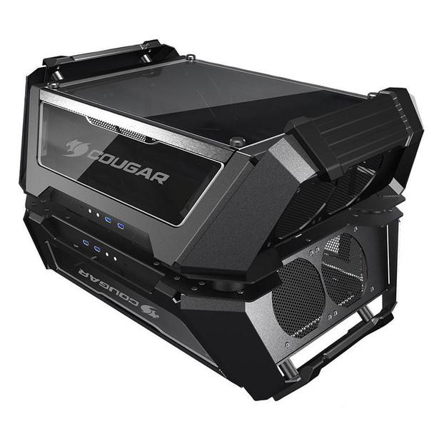 Image for Cougar Gemini X Tempered Glass Aluminum Dual Tower Case AusPCMarket