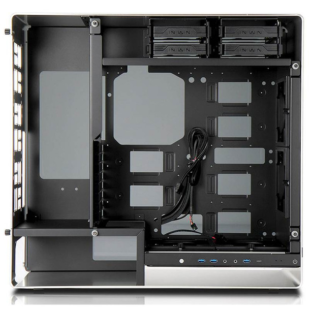 In Win 909 Tempered Glass Full-Tower E-ATX Case - Silver Product Image 2