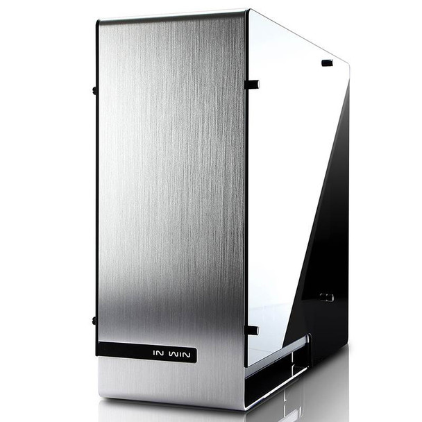 In Win 909 Tempered Glass Full-Tower E-ATX Case - Silver Product Image 5