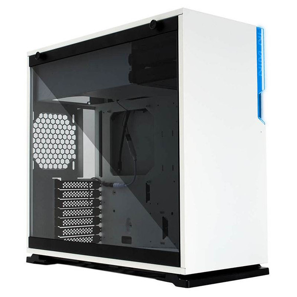 In Win 101C Tempered Glass RGB Mid-Tower ATX Case - White Product Image 3