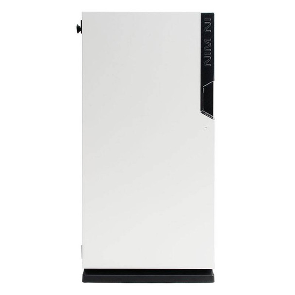 In Win 101C Tempered Glass RGB Mid-Tower ATX Case - White Product Image 4