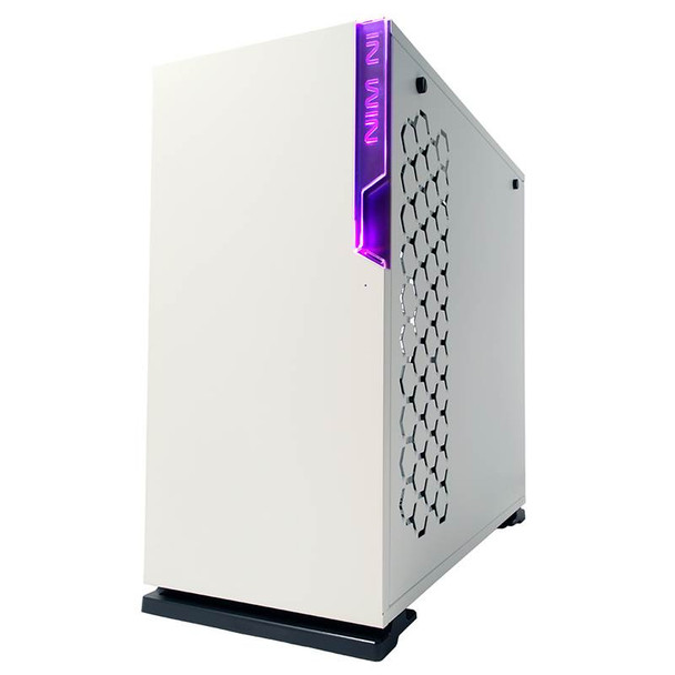 In Win 101C Tempered Glass RGB Mid-Tower ATX Case - White Product Image 6